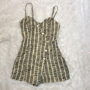 Urban Outfitters Printed Romper